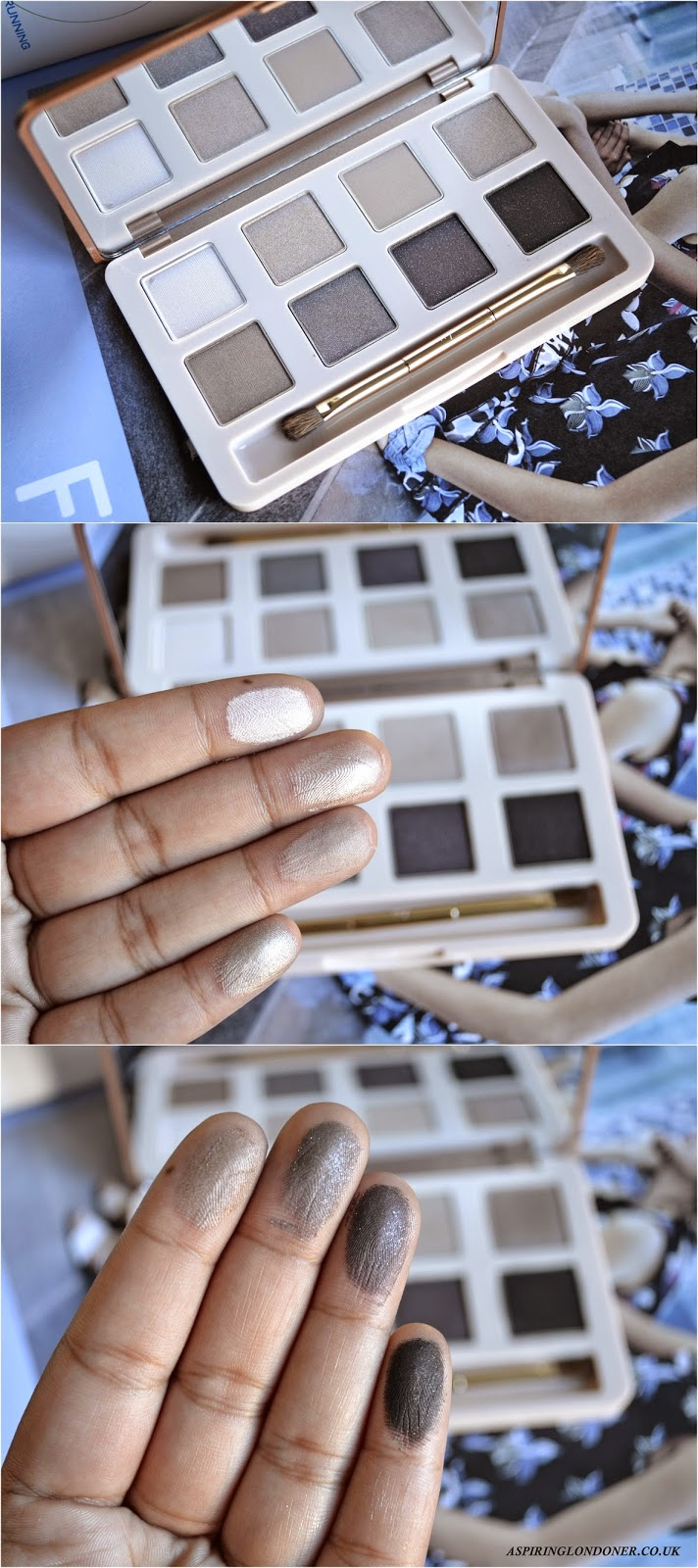 No7 Mini Eye Palette Swatches Spring 2015 - Aspiring Londoner