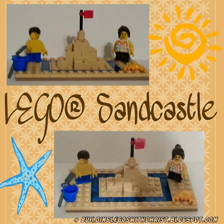 LEGO Sandcastle