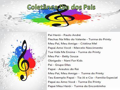 Coletânea de músicas para os pais