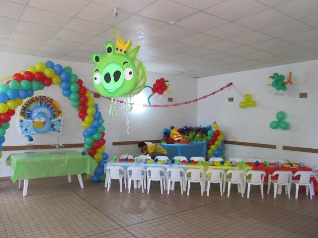 Fiesta tematica de angry birds imagui - Fiesta infantil tematica ...