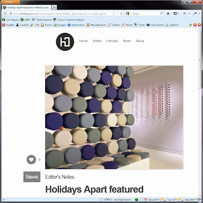 Screen shot of http://www.holidaysapart.com/stories/editors-notes/holidays-apart-featured-on-media-queries.
