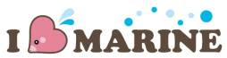 I Love Marine Logo Banpresto