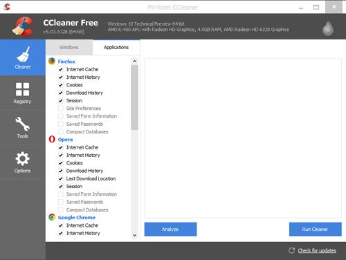 Cara Membersihkan Cokies Disemua Browser Dengan CCLeaner