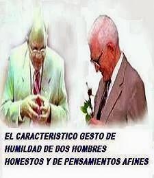 El Doctor José Reyes junto a su líder el al Profesor Juan Bosch