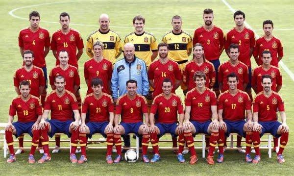 jugadores selección española de fútbol Eurocopa 2012 foto oficial