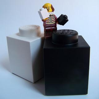 LEGO Shakespeare speech