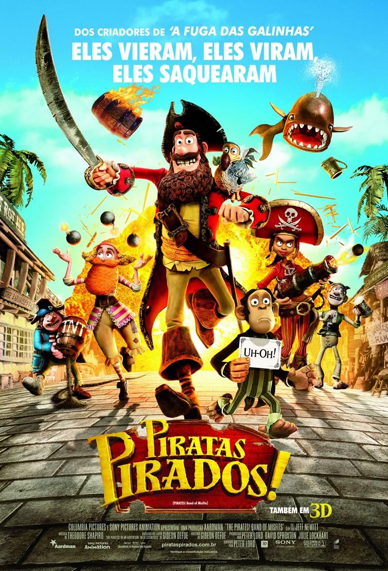 EXTRA: Álbum dos Piratas Pirados - 3D