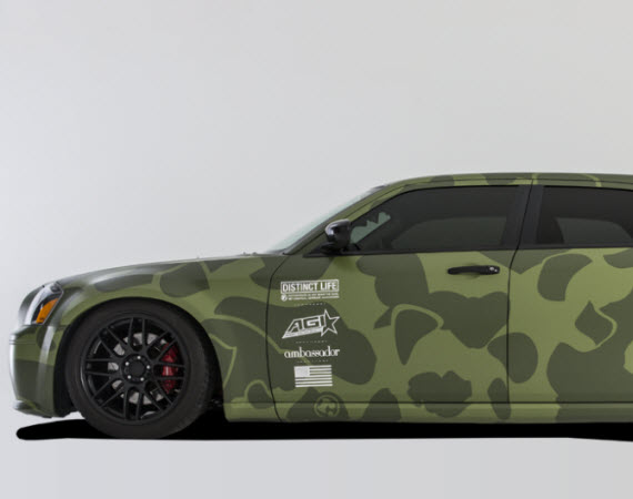 DISTINCT LIFE x AGI CUSTOM CAR WRAPS | DISTINCT LIFE X AGI: Vehicle Wraps - The Distinct Life Custom Car Wrap collection.