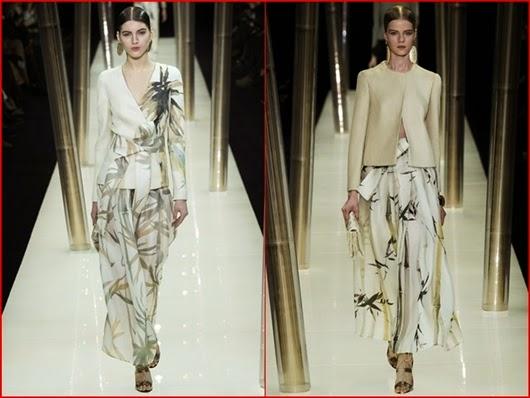 Giorgio Armani Prive Frühjahr/Sommer 2015 Haute Couture Kollektion