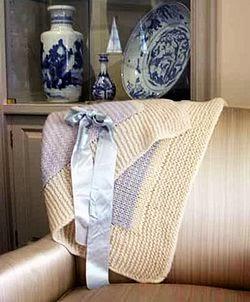 Hoover Blanket Afghan Knit Pattern