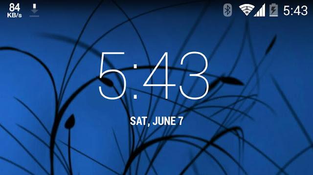 Cara Menampilkan Internet Speed Meter di Statusbar Android