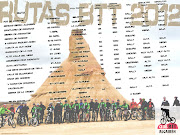 Cartel Rutas 2012