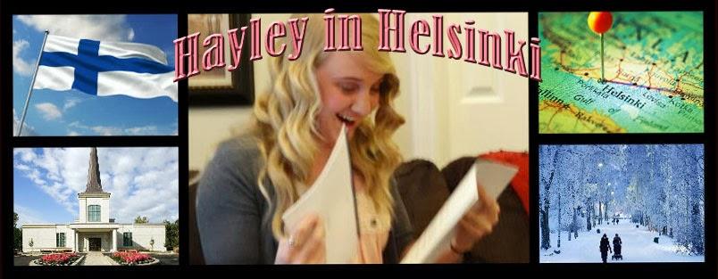Hayley in Helsinki