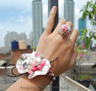 flower ring, cincin bunga