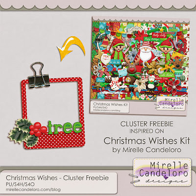*New* Christmas Wishes Products + Freebie