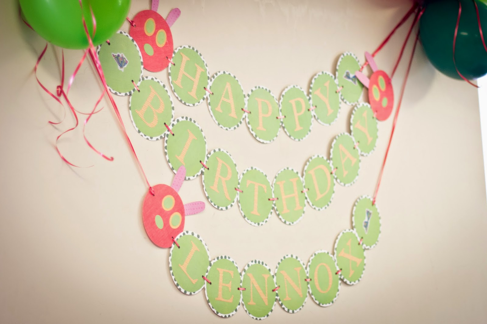 Berries of Wisdom: The Very Hungry Caterpillar Party Decorations ...