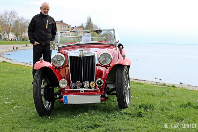 Classic Car Meeting in Langenargen at the Lake of Constance - Oldtimer Treffen in Langenargen am Bodensee