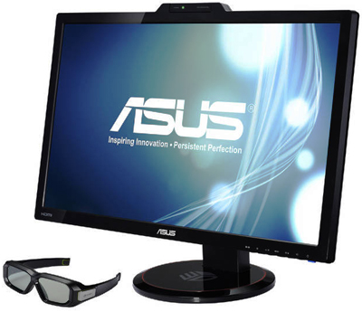 VG278H, Asus VG278H, a 27-inch, Nvidia unveils its 3D Vision 2 glasses for 3D gaming