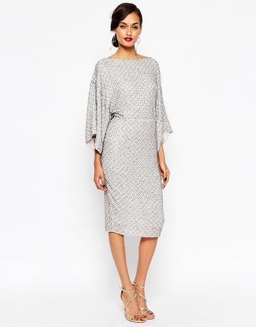 asos silver kimono dress. silver sequin kimono dress,