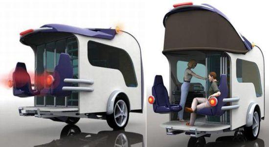 Bringing The Outdoors In A Modern Campervan Design