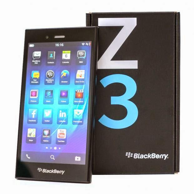 Review Blackberry Z3 Jakarta