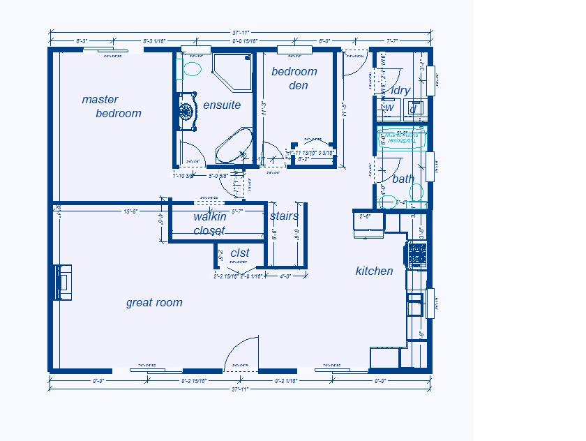 house blueprints ex les on small house floor plans 1100 square feet