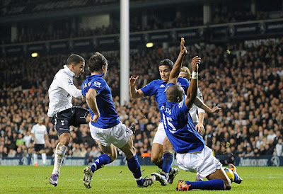 Tottenham Hotspurs 2 - 0 Everton (1)