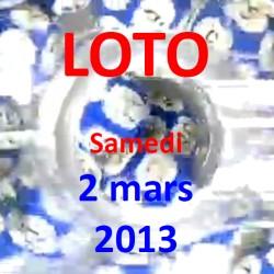 LOTO - samedi 2 mars 2013