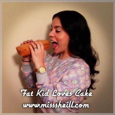 Miss.She.iLL. - Fat Kid Loves Cake (Pound Cake Freestyle)