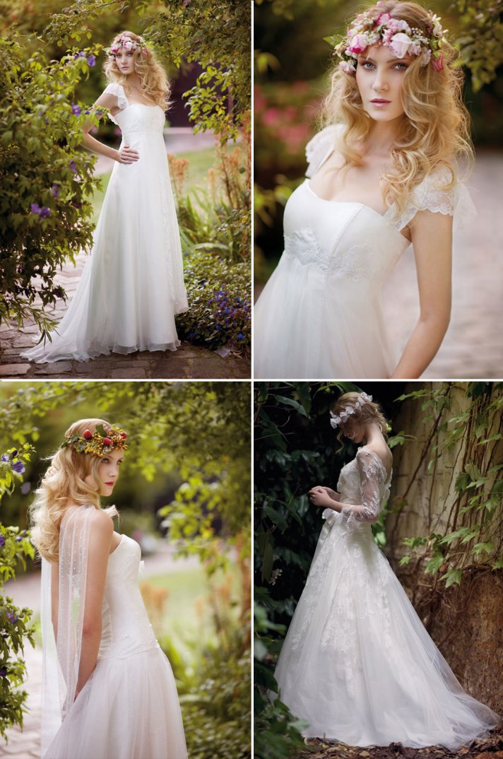 Boho Wedding Dress S Perth : Bohemian bridal style wedding dresses and accessories full g