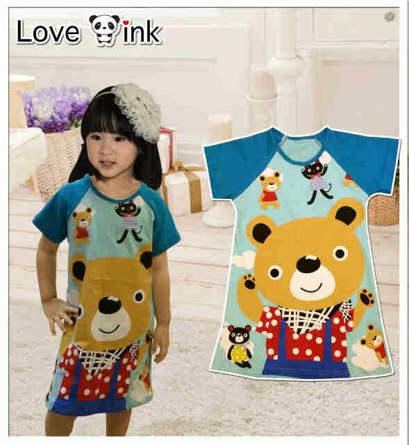 Dress Kids Bear.Love Ink.