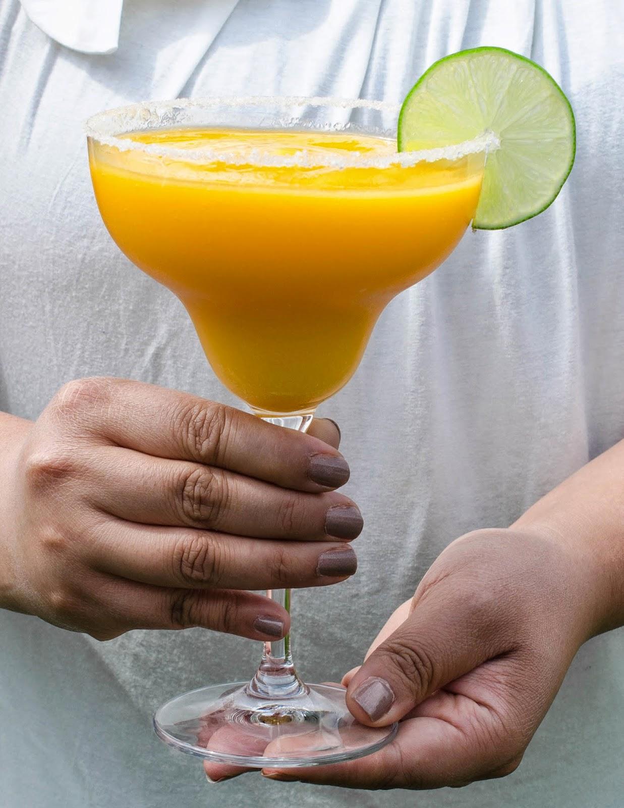 Mango Lime Margaritas