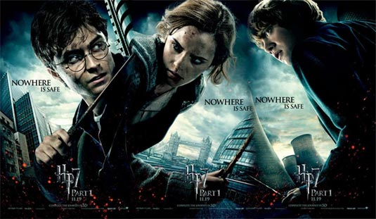 harry potter 7 poster it all ends here. new harry potter 7 poster.