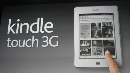 Kindle Touch in Italia disponibile