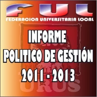 INFORME POLÍTICO DE GESTION (2011-2013)