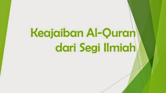 Keajaiban AlQuran Dan Hadist