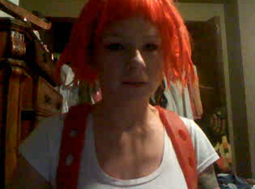 Is Leeloo really the perfect being. Doesn't look like