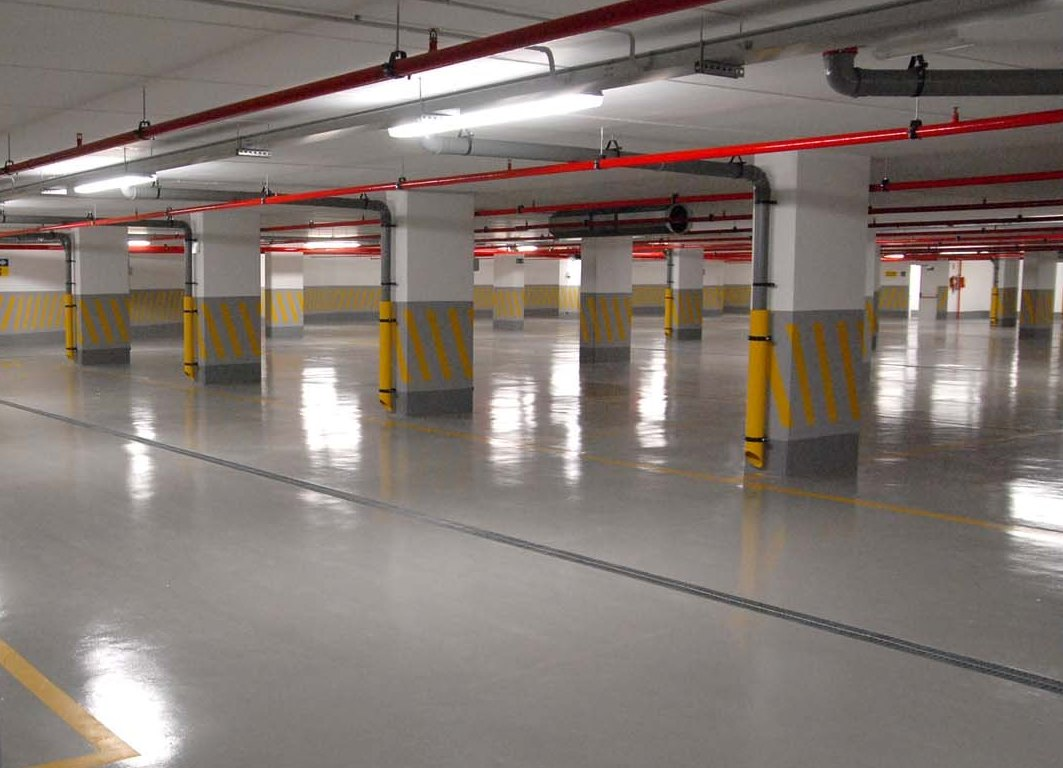 Parkade Underground Parking Led Lighting Retrofit In