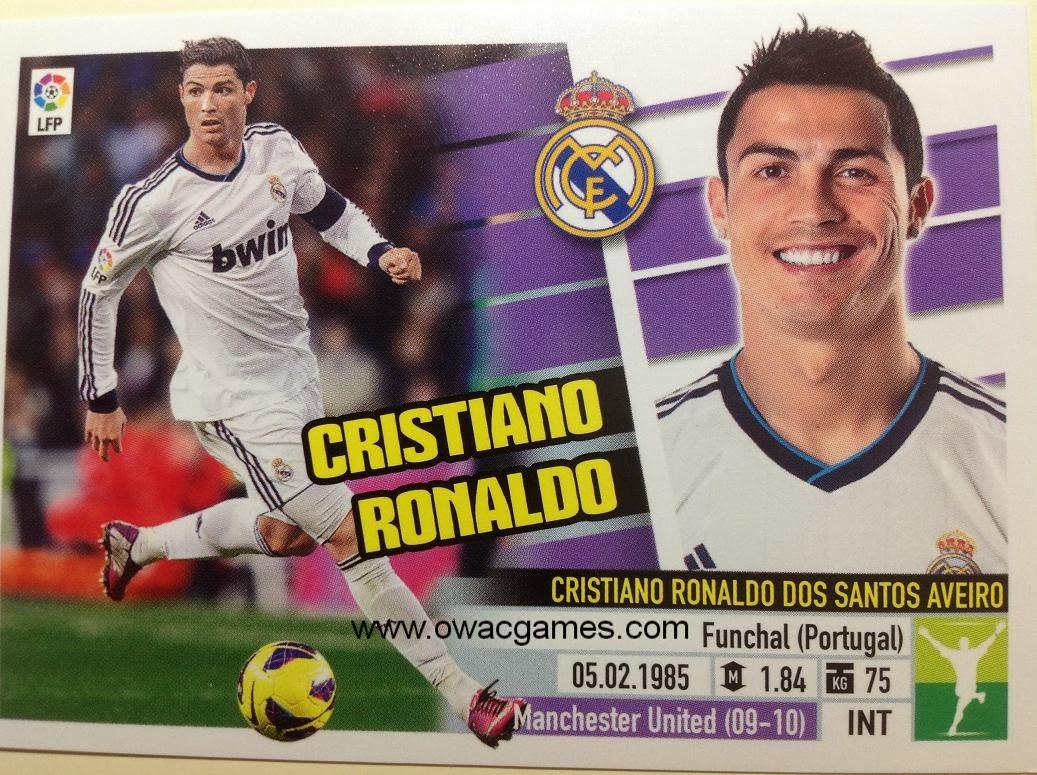 Liga ESTE 2013-14 Real Madid - 15 - Cristiano Ronaldo