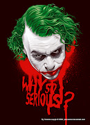 I think this guy had it right: Heath Ledger as The Joker. batman dark knight joker