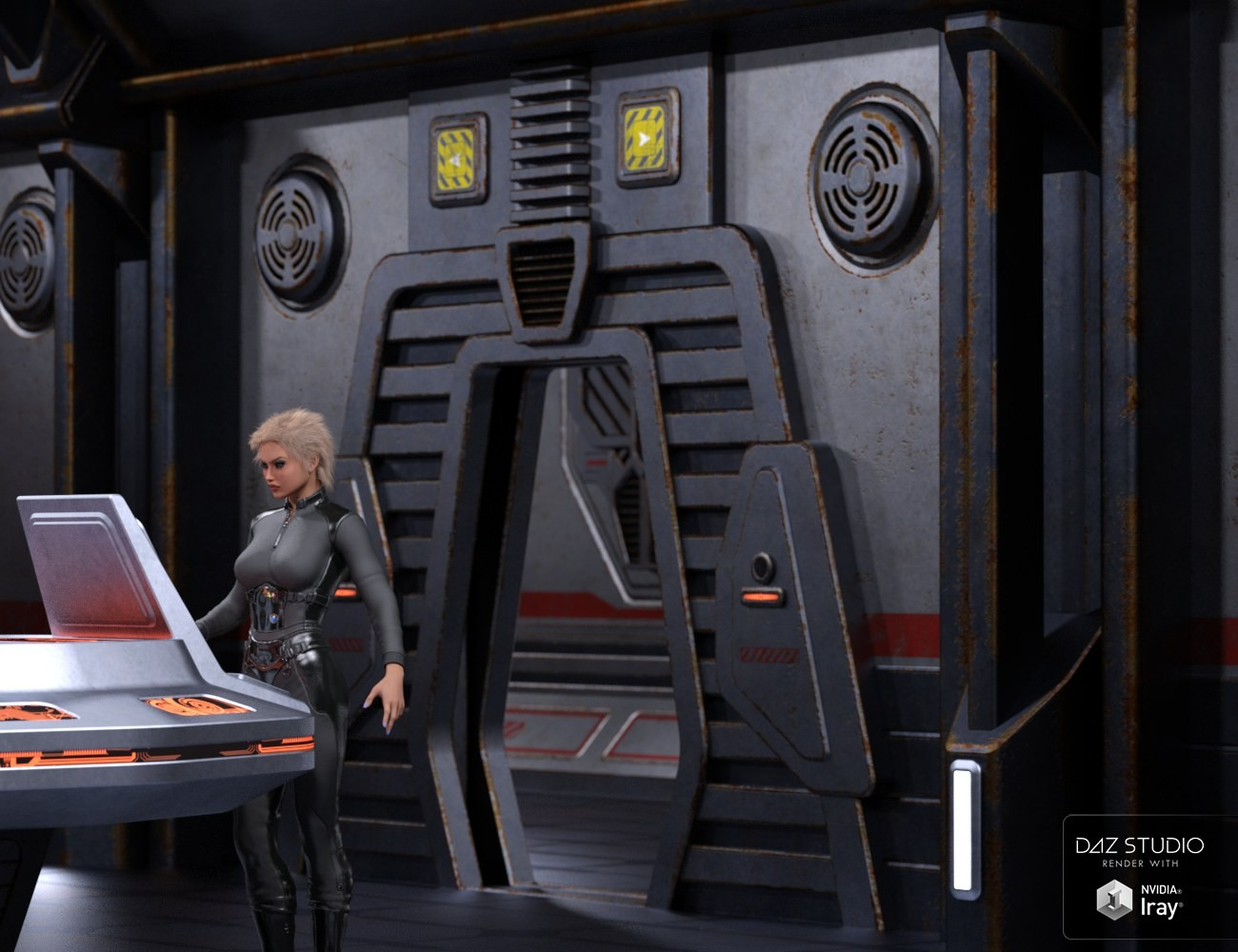Sci Fi Stronghold : Download daz studio for free d sci fi