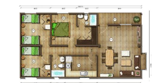 Dise os de casas planos gratis planos de casas gratis 85 m2 for Planos arquitectonicos de casas gratis
