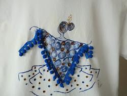 Camiseta gitana mantón