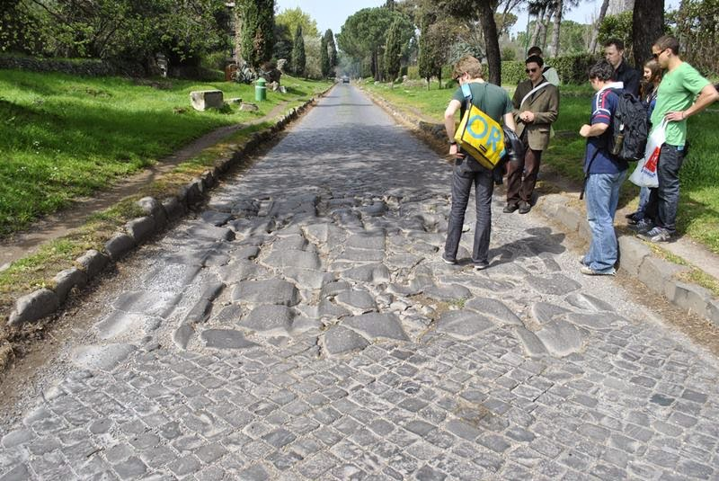 Ancient patch of Appian Way