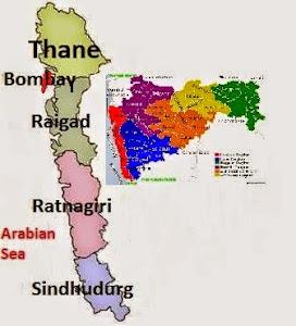 konkan District Map