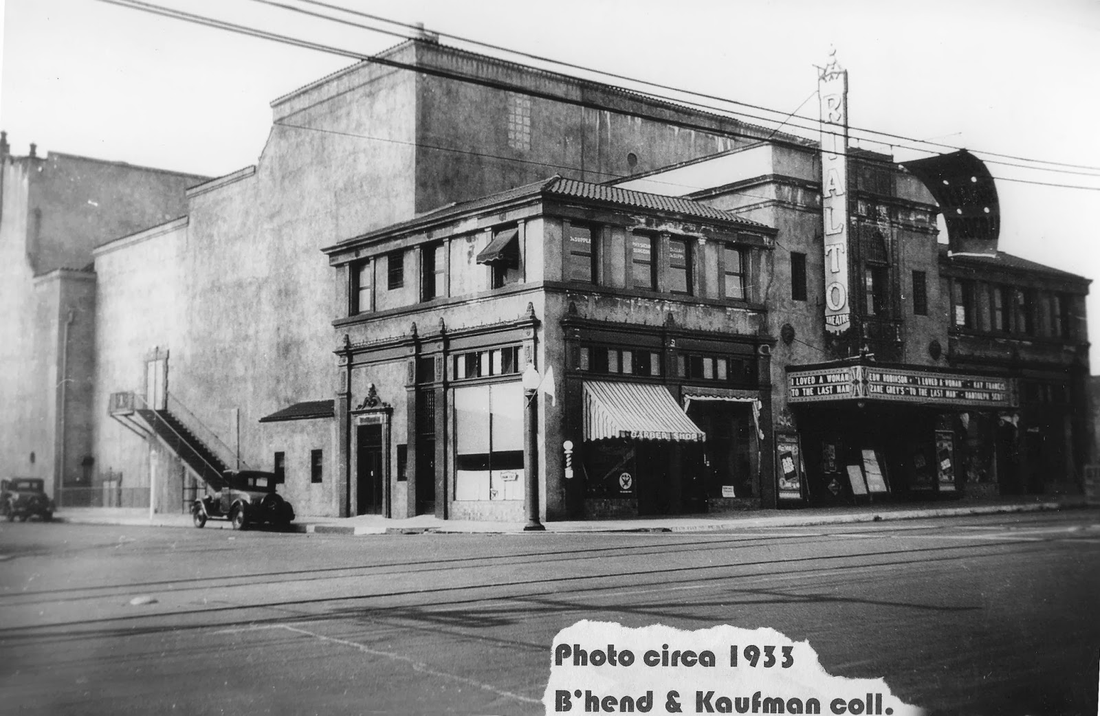 Angeles bridge los movie theater