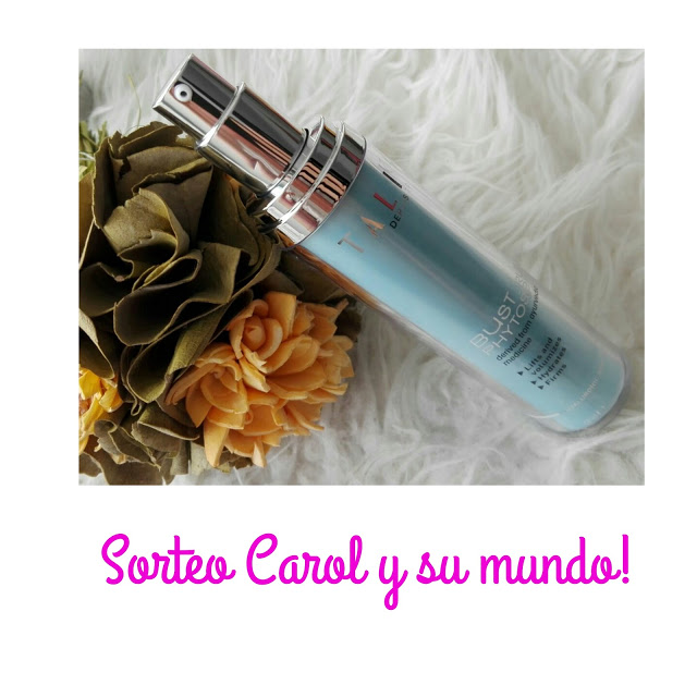 TALIKA EFFIGY BUST PHYTO SERUM 70 ML ,SORTEO!!!