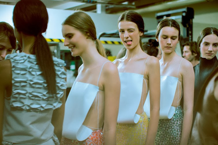 Backstage JW Anderson ss14