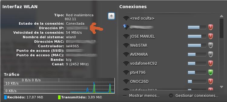 direccion ip puertos: