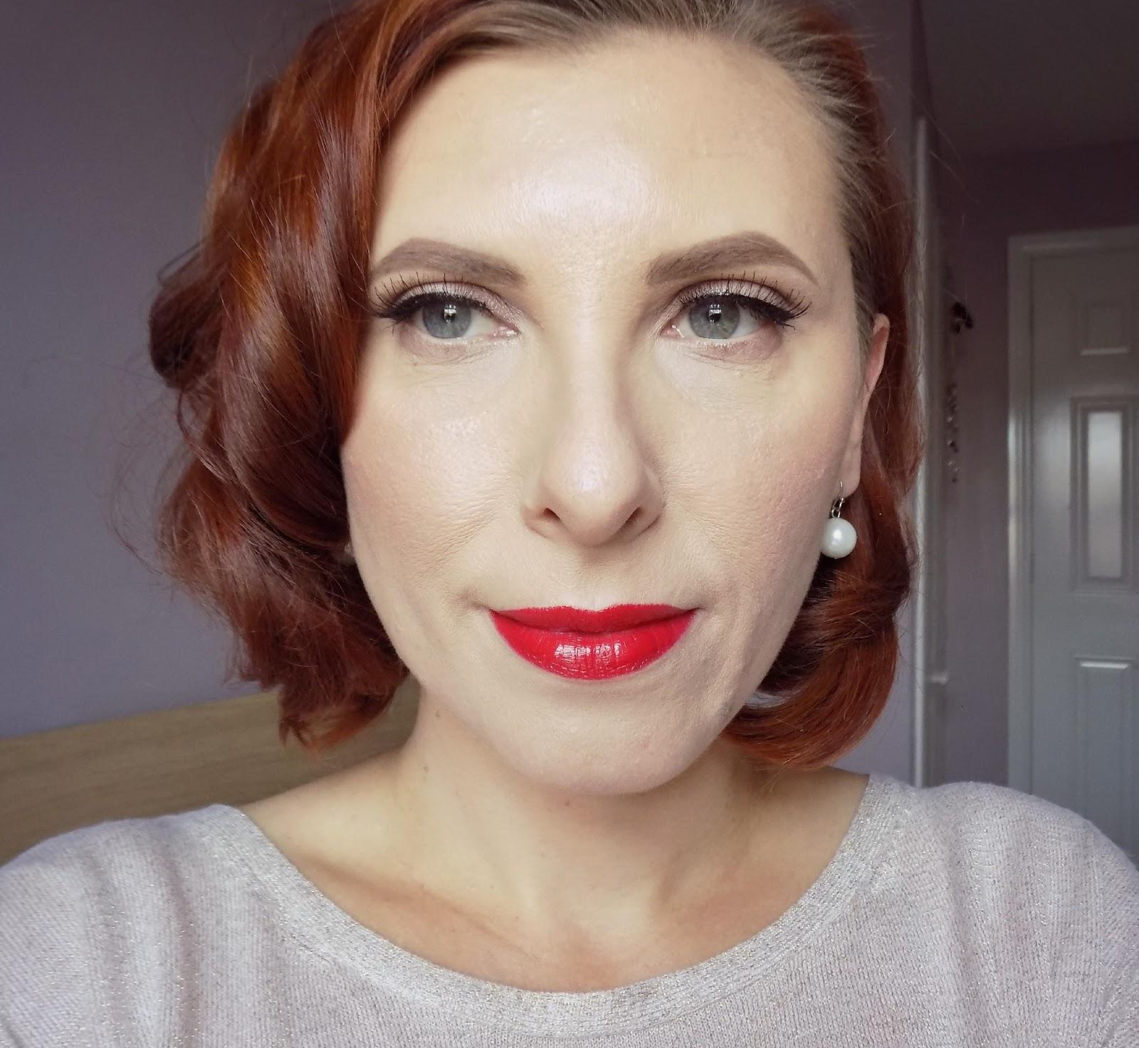 1950s makeup look
